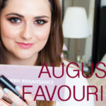 august beauty favorites